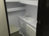 Water closet/ shower with hotwater