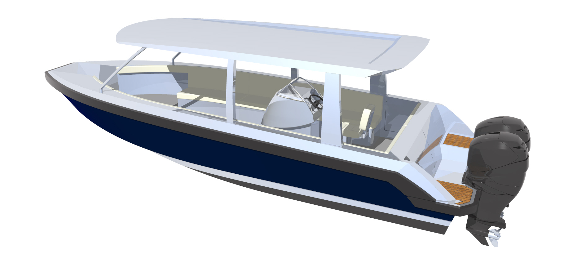 8.5m tender/ water taxi