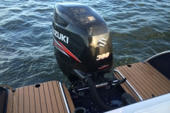 Single engine setup - also available in twin outboard version or single inboard