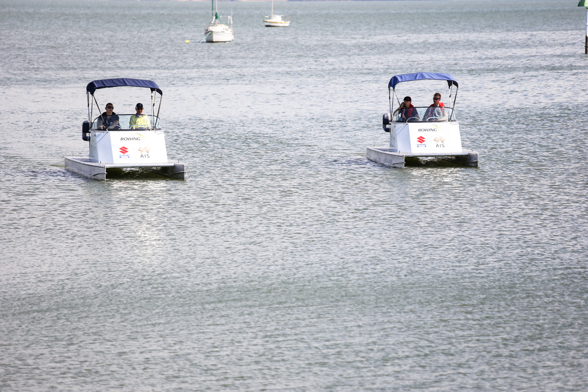 Rowing Umpire/ officials Catamaran